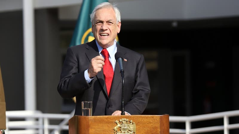 """Piñera emplaza al Congreso y pide """"apurar"""" leyes de agenda de seguridad: """"Son necesarias y urgentes"""""""
