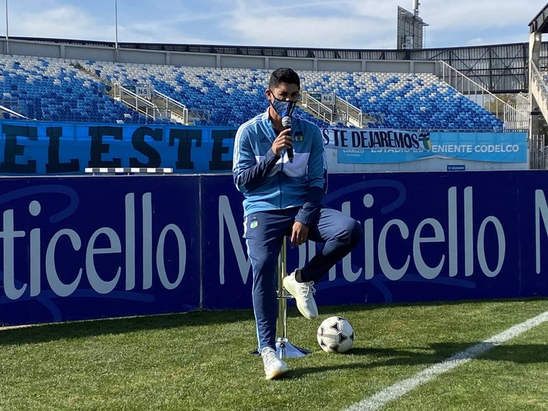O'Higgins presenta oficialmente a Pedro Pablo Hernández como nuevo refuerzo