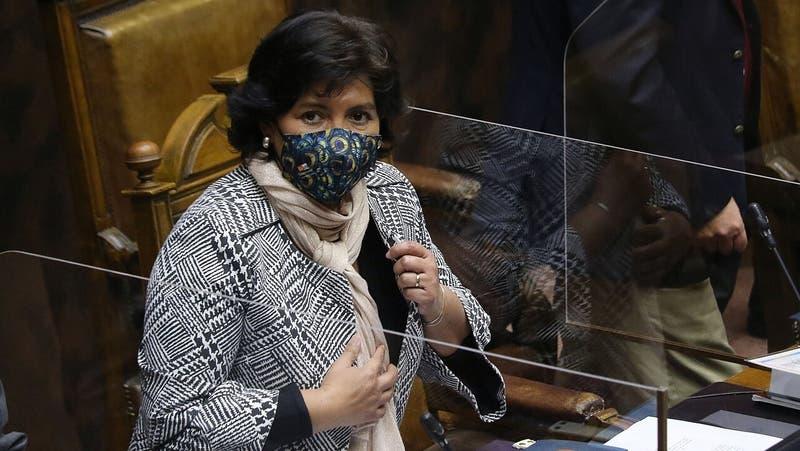 El guiño presidencial de Yasna Provoste durante actividad en el Congreso
