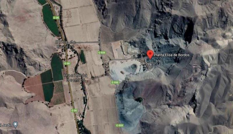 Accidente minero deja al menos un muerto en Planta Elisa de Bordos de Tierra Amarilla