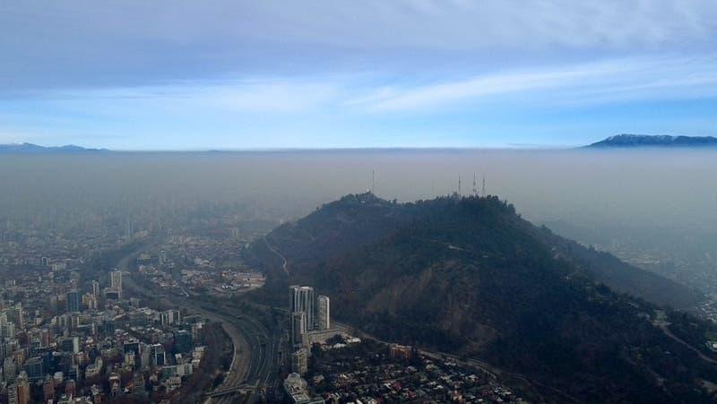Intendencia decreta preemergencia ambiental para este viernes en la Región Metropolitana