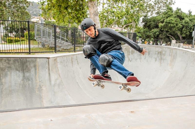 Tony Hawk cumplió un sueño: su recorrido por la pista de skate en los Juegos Olímpicos