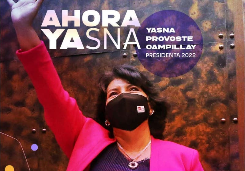 """Presidenta 2022"": Provoste publica foto confirmando candidatura"