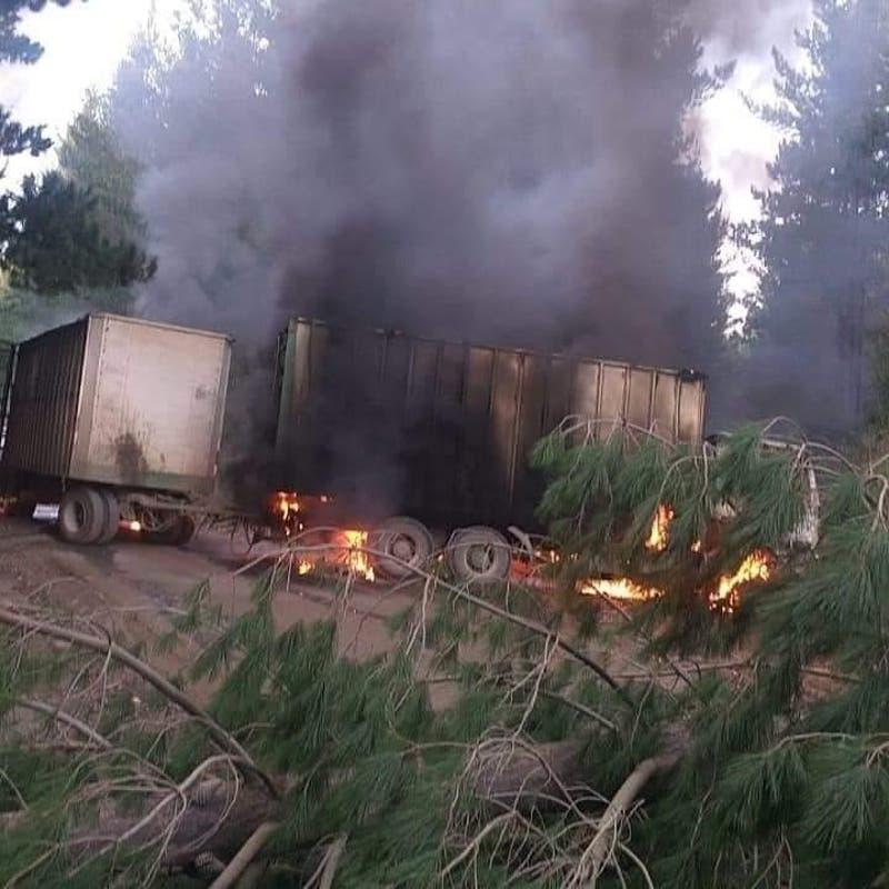 Movimiento Resistencia Mapuche Lavkenche se atribuye atentados en Cañete
