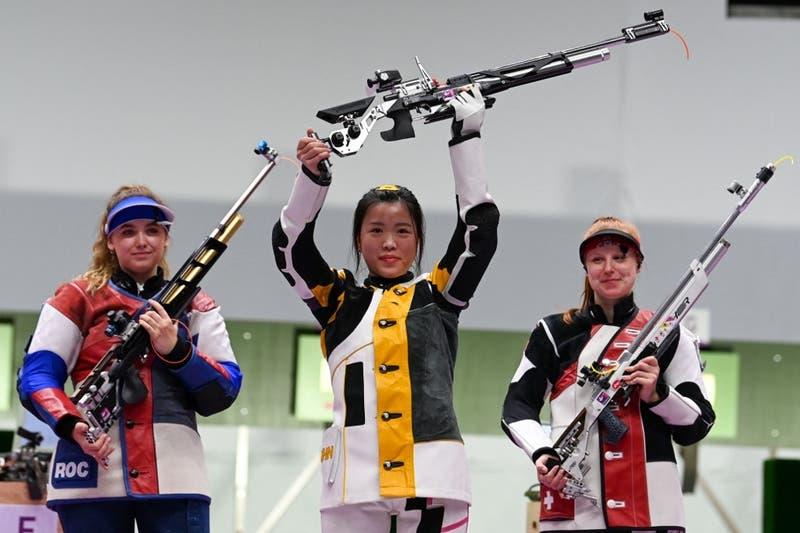 La tiradora china Qian Yang consigue el primer oro de Tokio-2020