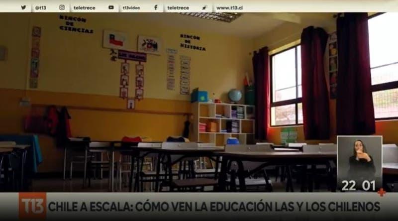 """""""Chile a Escala"""": Cómo ven la educación los y las chilenas"""