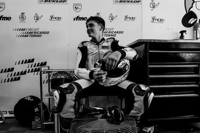Muere Hugo Millán, piloto de 14 años de la Talent Cup, tras un accidente en la pista