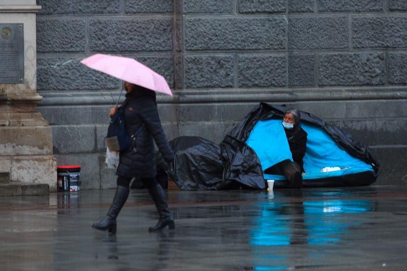 Ministerio de Desarrollo Social activó el Código Azul por llegada de bajas temperaturas