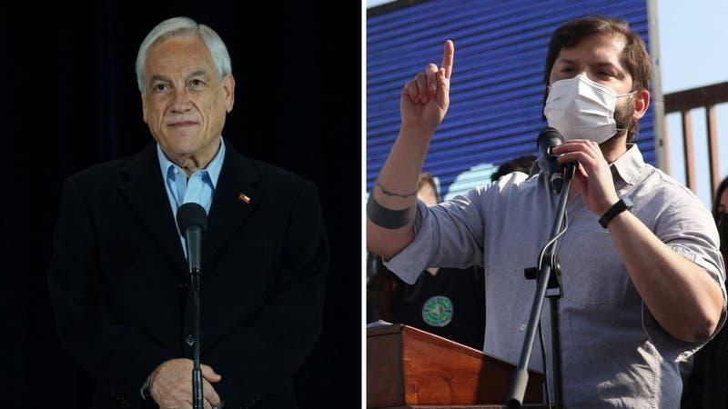 Cadem: Aprobación al Presidente Piñera llega al 20% y Boric lidera preferencias presidenciales