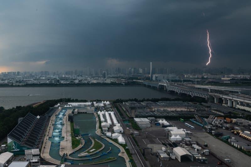 Una tormenta tropical se acerca a Japón en medio de los Juegos Olímpicos