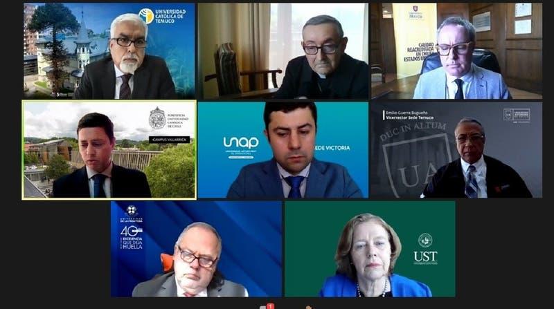 Rectores de La Araucanía proponen que fundación noruega medie diálogo por situación en la región