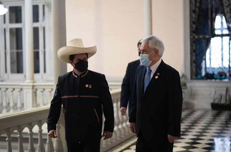 """Presidente Piñera en cambio de mando en Perú: """"Si le va bien al Perú, nos va bien a todos"""""""