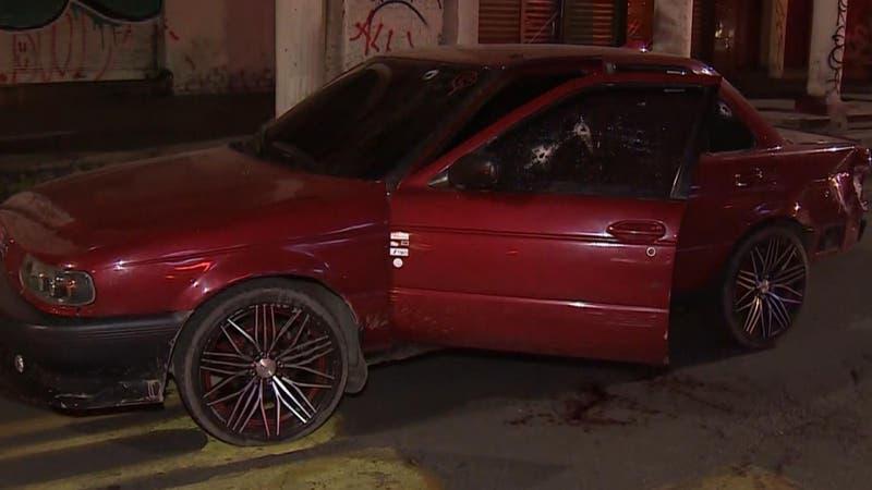 Hombre fue baleado durante robo frustrado en el centro de Santiago