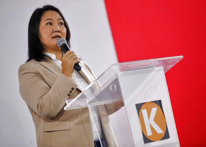 """Keiko Fujimori: """"Seremos un firme muro"""" contra la """"Constitución comunista"""" en Perú"""