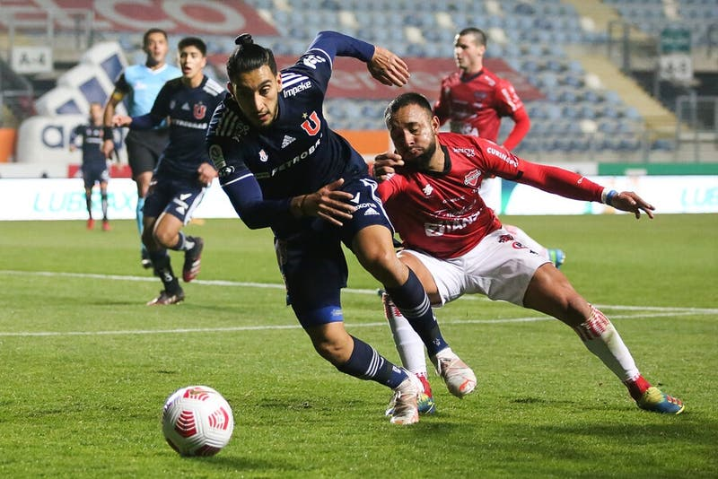 Ñublense le saca la victoria en el último minuto a la U e igualan en Rancagua