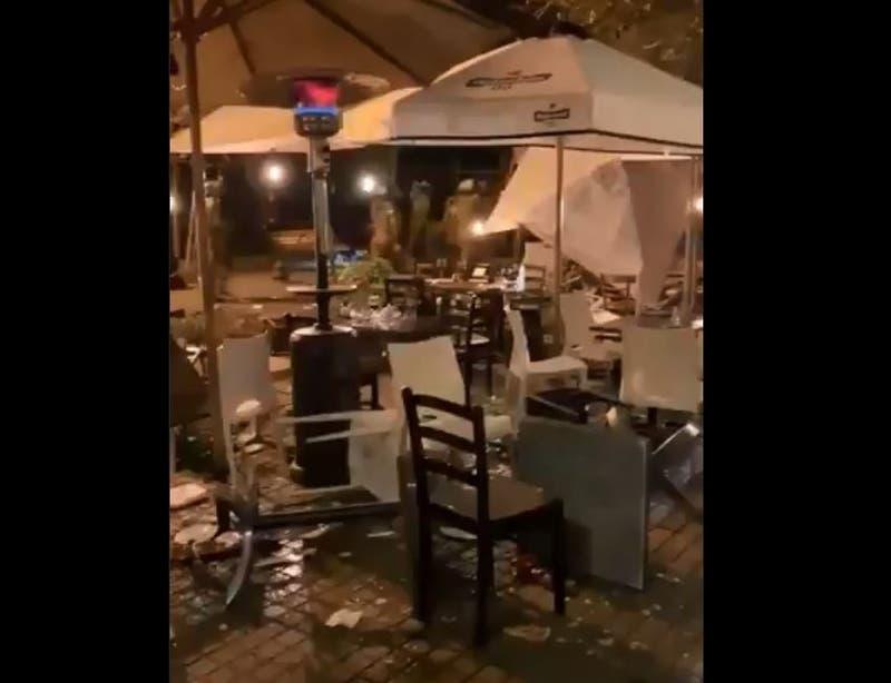 """Irací Hassler tras daños en Barrio Lastarria: """"Llamamos al Estado de Chile a estar a la altura"""""""