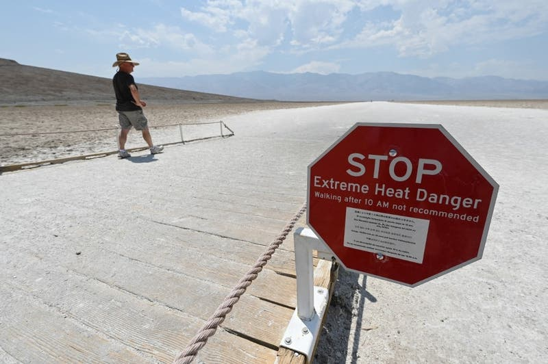 Hombre fallece en el Valle de la Muerte producto de las altas temperaturas