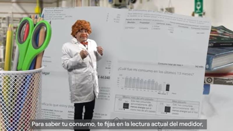 """Volvió el """"Profesor Salomón"""": Ahora explica las cuentas de la luz en YouTube"""