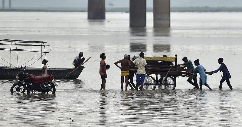 Once muertos en el este de India por lluvias torrenciales