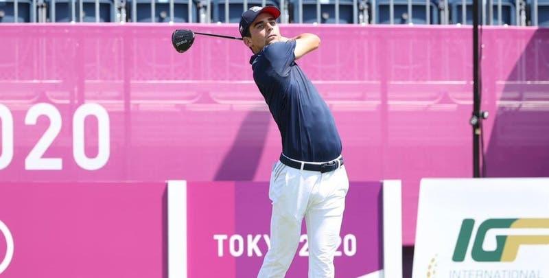 Joaquín Niemann terminó décimo en el golf de Tokio 2020