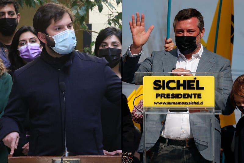 Encuesta Cadem sitúa a Boric y Sichel igualados en la carrera presidencial