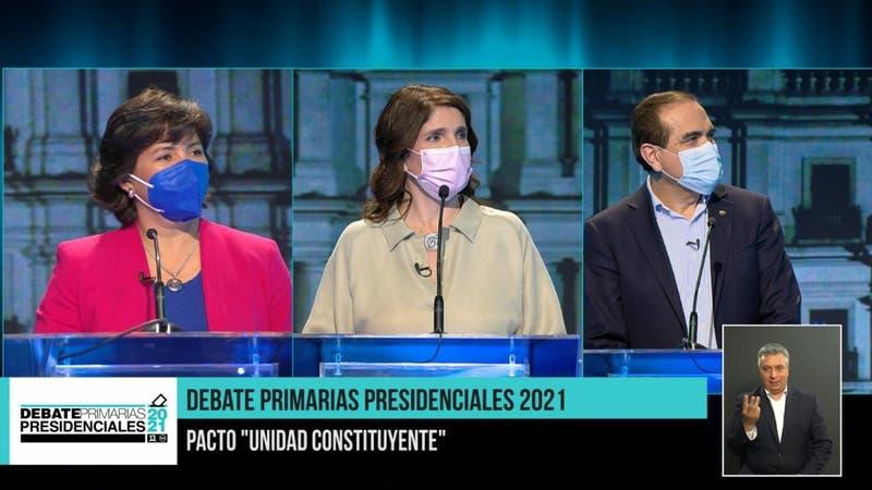 Debate Unidad Constituyente