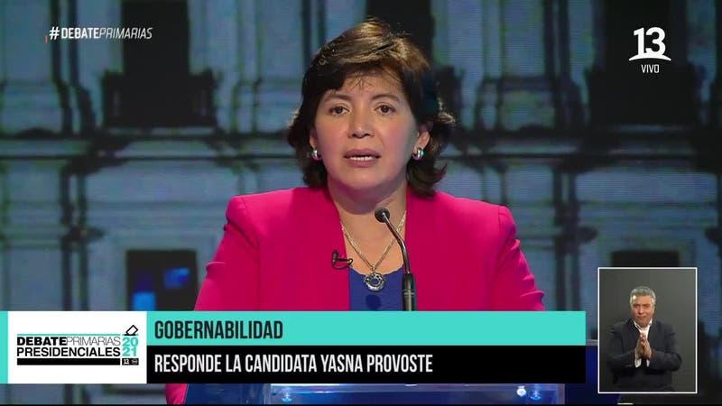 """Yasna Provoste: """"Me siento orgullosa de haber sido ministra de la Concertación"""""""