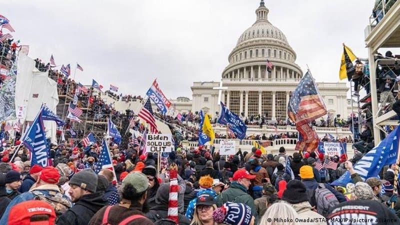 Un cuarto policía se suicida después del asalto al Capitolio de Estados Unidos