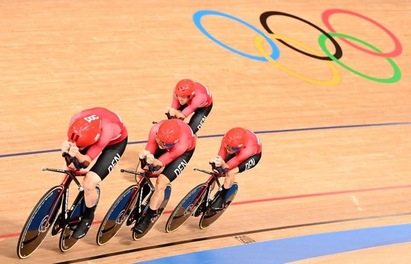 Acusan a equipo danés de ciclismo de hacer trampa en Tokio 2020 por un detalle en sus piernas