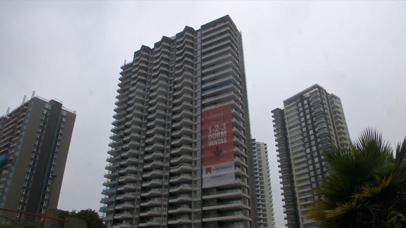 Dunas de Concón: Paralizan obras de edificio que ya tiene 28 pisos