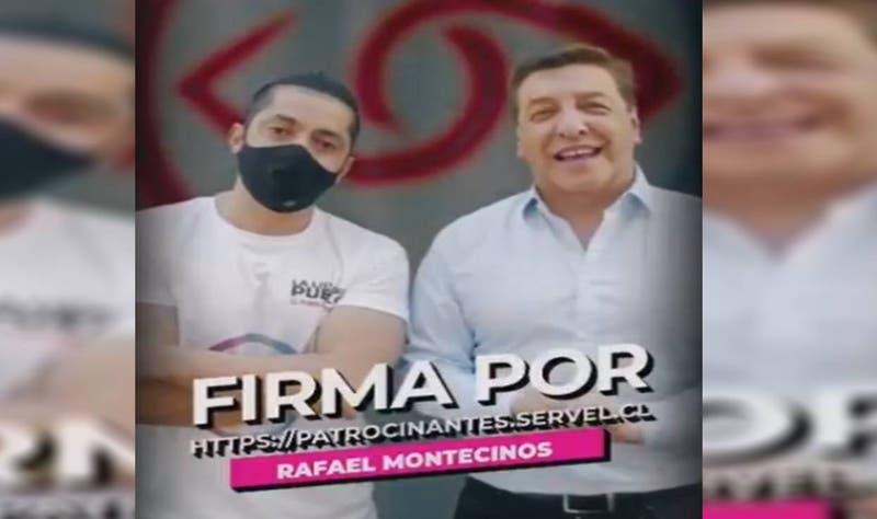Candidato de la Lista del Pueblo muestra video con apoyo de Julio César Rodríguez