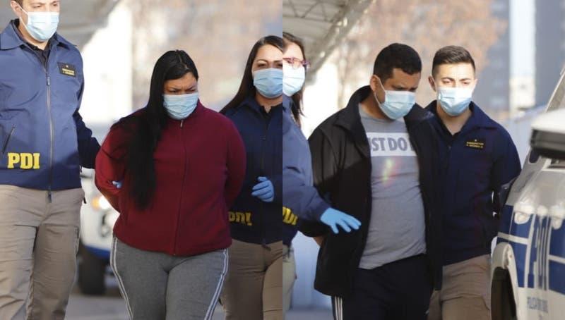 Detienen a pareja extranjera acusada de asesinar a niña de 3 años en Quinta Normal