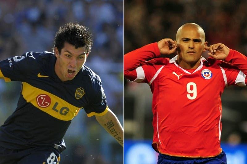 Los equipos de baby que armó Medel para duelo entre Boca y La Roja (y él juega para el Xeneize)