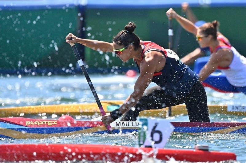 María José Mailliard queda fuera de la final de canotaje en Tokio 2020