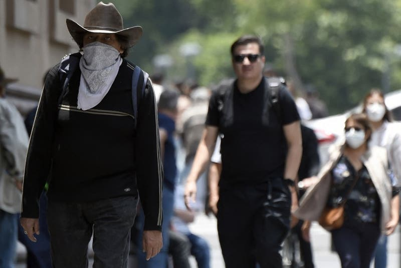 México vuelve a más de 20 mil casos diarios de COVID-19, con variante Delta como dominante