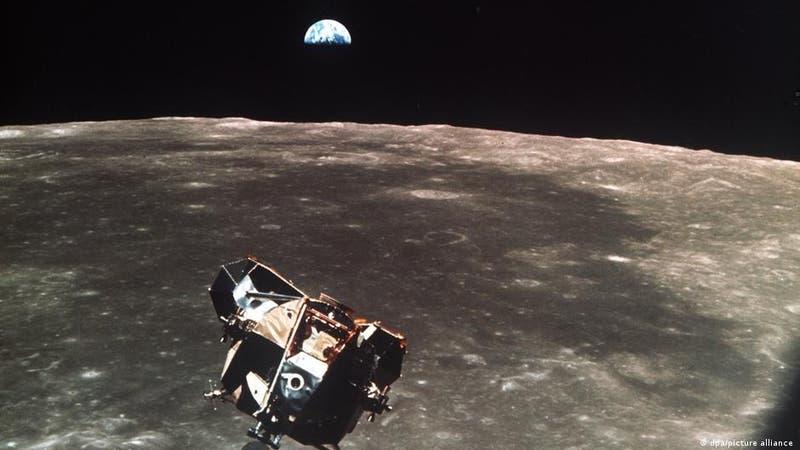 Parte de la nave de la misión Apolo 11 podría seguir orbitando la Luna