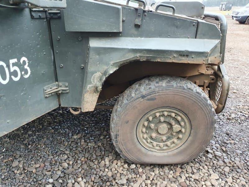 Así quedaron vehículos de Carabineros tras fallido operativo en Temucuicui