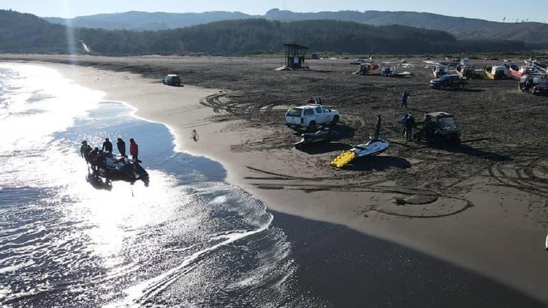 Armada confirma hallazgo de uno de los pescadores desaparecidos en Bucalemu