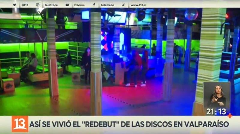 """Así se vivió el """"redebut"""" de las discos en Valparaíso"""