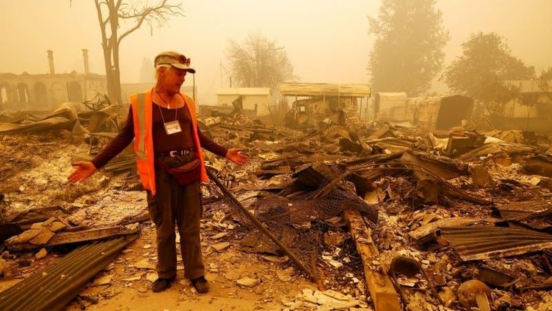 Incendios: las imágenes de la devastación en varias partes de Estados Unidos, Rusia y Grecia