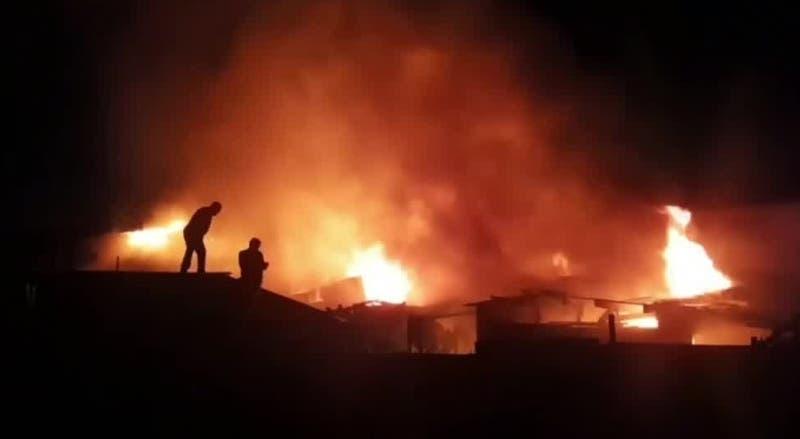 Madre e hija fallecieron tras incendio de su vivienda en La Granja