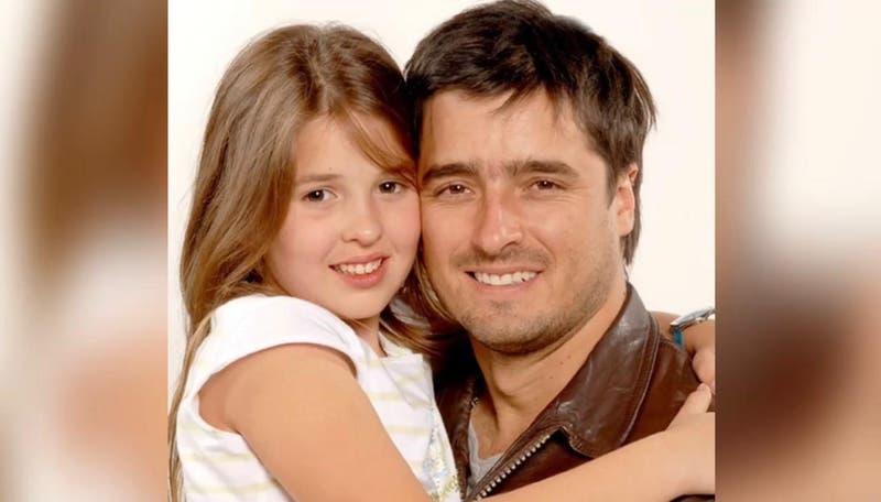 """Con mi papi Ricky de siempre"": Belén Soto se reunió con Jorge Zabaleta a 14 años de la teleserie"