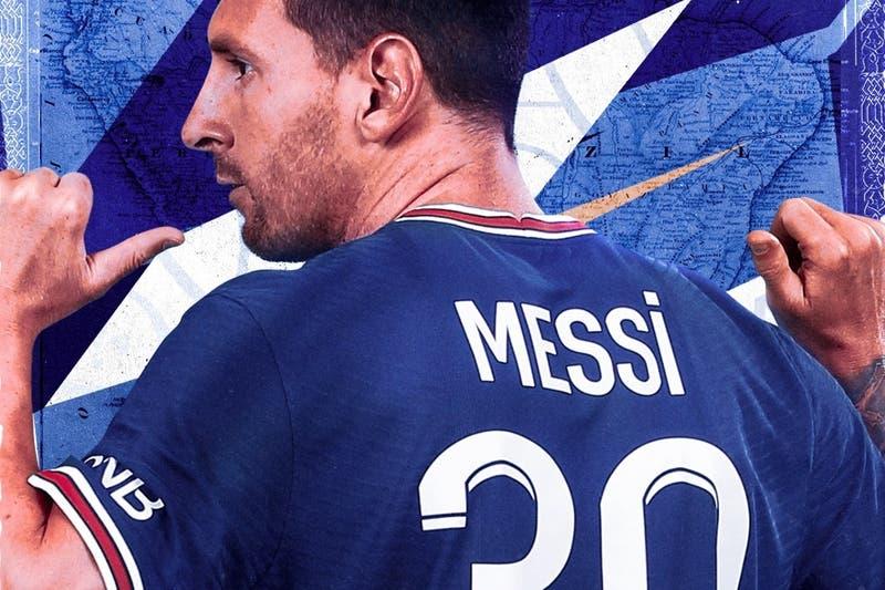Fin de la 10: Lionel Messi vuelve a sus inicios con el número de su camiseta en el PSG