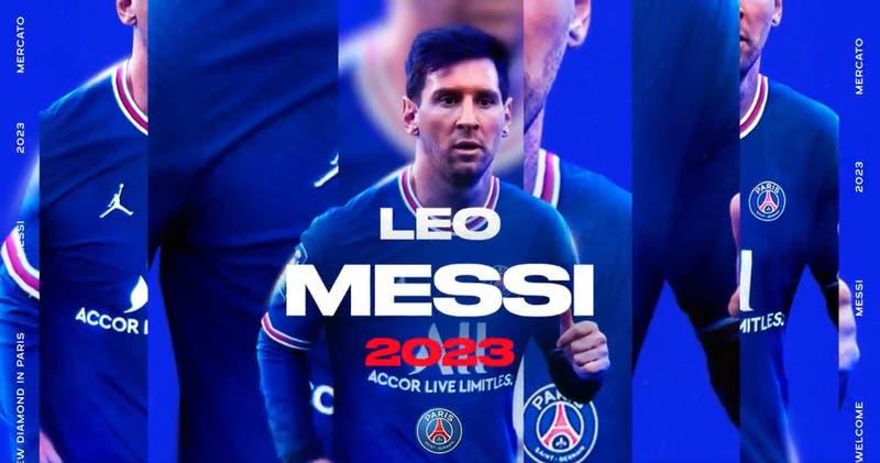 París Saint-Germain anuncia oficialmente el fichaje de Lionel Messi: firmó hasta 2023