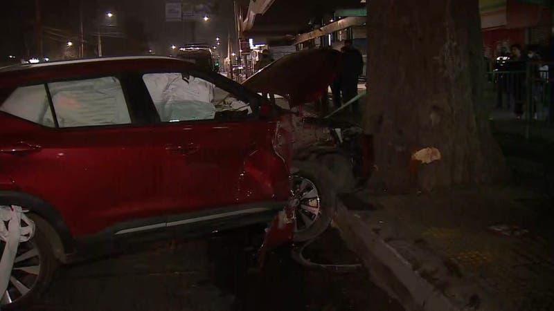 Dos personas graves tras atropello en Recoleta: Conductor habría estado bajo los efectos del alcohol