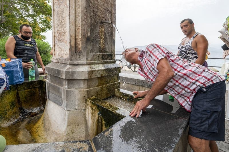 Récord histórico de calor en Europa: Sicilia marcó 48,8 grados este miércoles