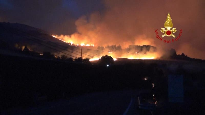 "Anticiclón ""Lucifer"" eleva los termómetros a 48,8º en Italia"