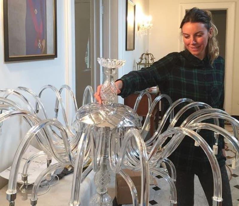La arquitecta que trabaja hace 17 años dando nueva vida a las lámparas