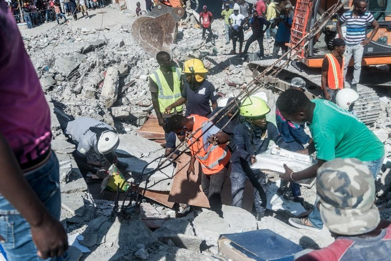 Muertos producto del terremoto en Haití aumentan a 1.297