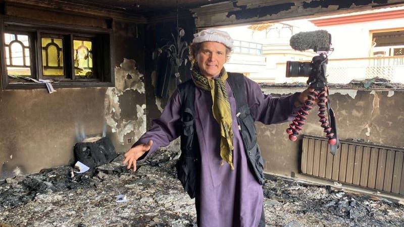 """""""Hoy el Talibán entró a mi hotel"""": el chileno atrapado en medio de caída de capital de Afganistán"""